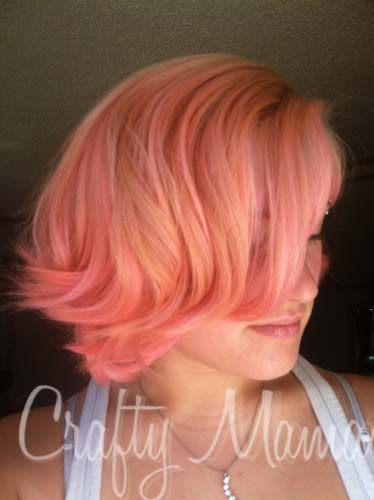 Dye Your Hair With Food Coloring Crafty Mama