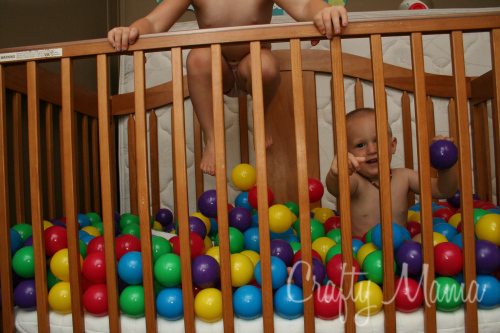 Bouncy Ball Pit Crafty Mama