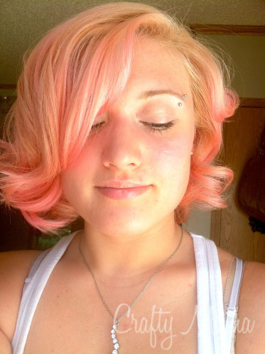 Dye your hair with food coloring!   :) Crafty Mama