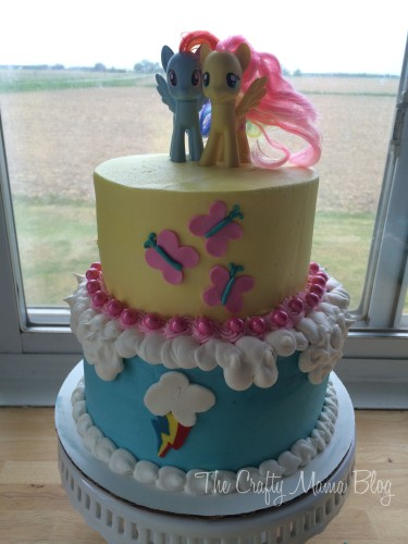 My Little Pony Cakes Part Three Cutie Mark Cake Crafty Mama
