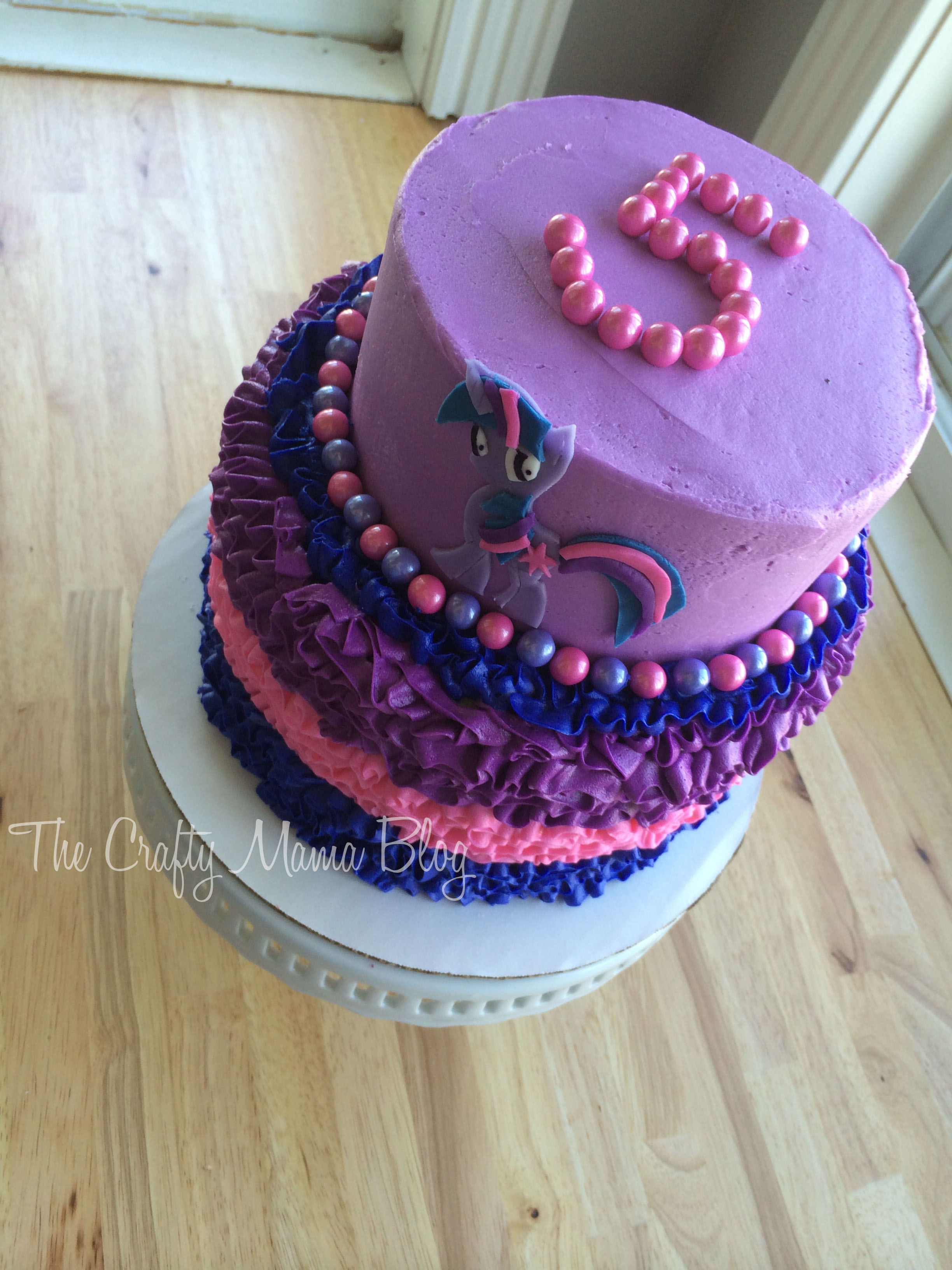 My Little Pony Cakes Part Two Twilight Sparkle Crafty Mama