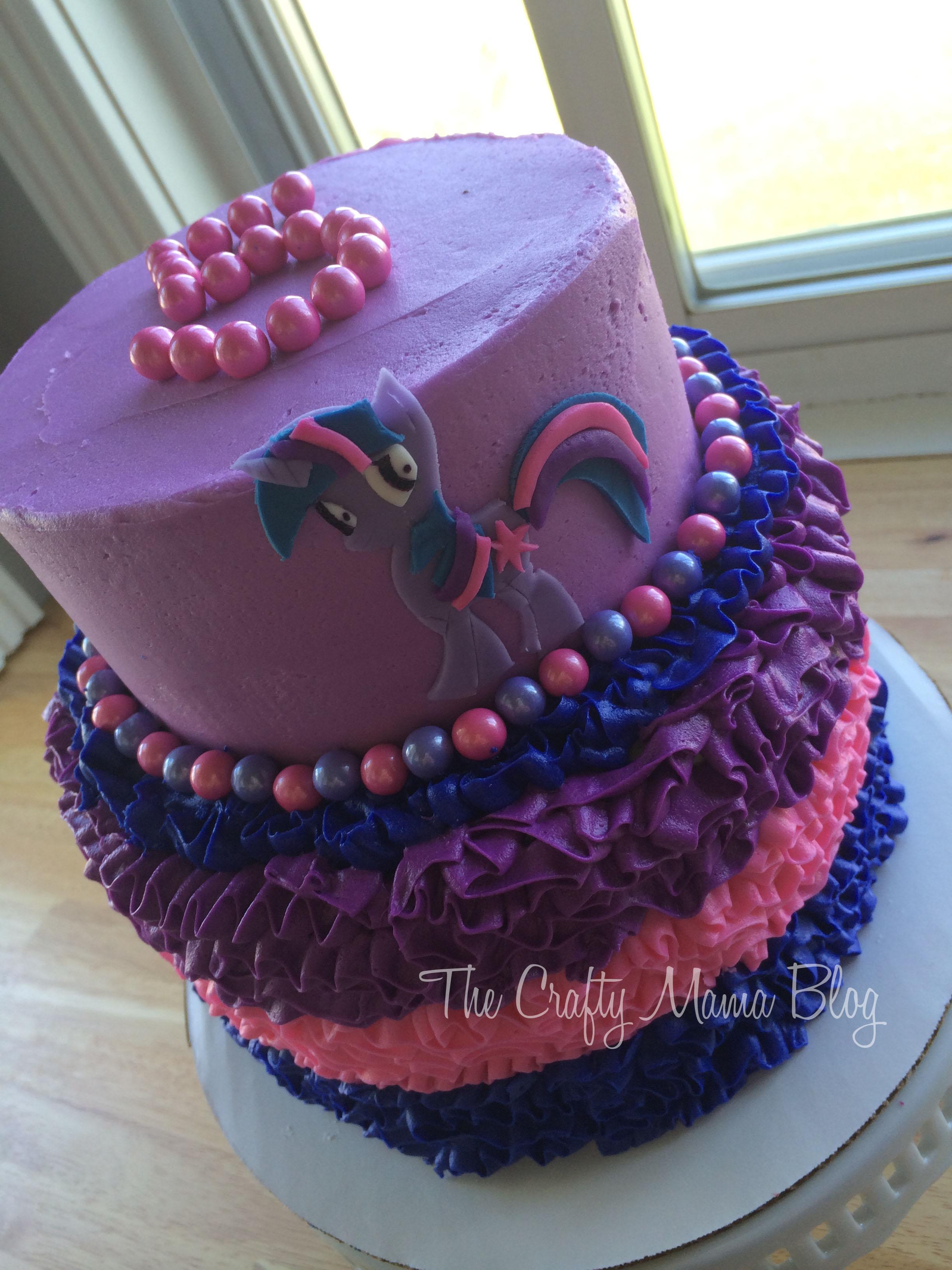 Surprising My Little Pony Cakes Part Two Twilight Sparkle Crafty Mama Funny Birthday Cards Online Elaedamsfinfo